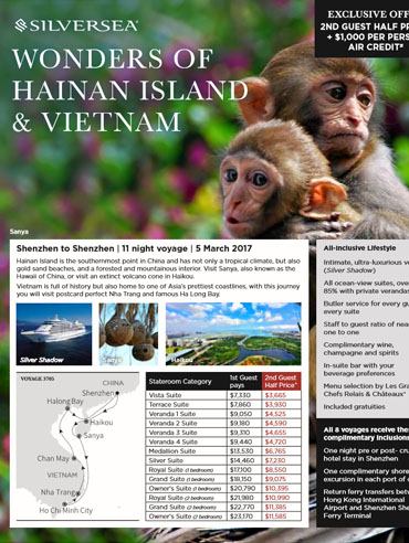 Wonders of Hainan Island & Vietnam